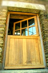 Stable doors, Half glazed, half glass, Listed buliding, conservation grade, traditional, solid wood, hi specificatio, manufacturers,