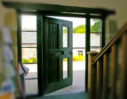 Stable doors, Half glazed, half glass, Listed buliding, conservation grade, traditional