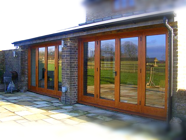 Patio doors, fully glazed, with frame, double glazed, glass, Listed buliding, conservation gradesolid wood, high specification, bespoke, Oak, hard wood,High quality, traditional Joinery